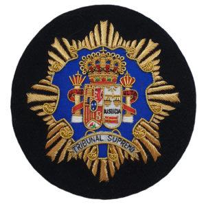 Escudo para Toga Magistrados Tribunal Supremo