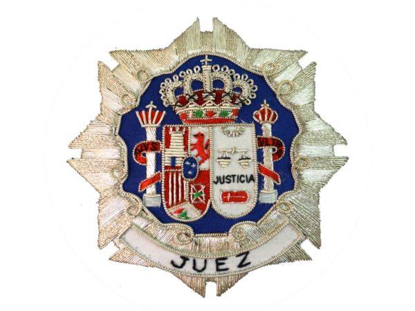 Escudo para toga juez fondo blanco