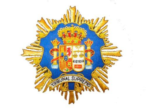 Escudo para toga Tribunal Supremo fondo blanco
