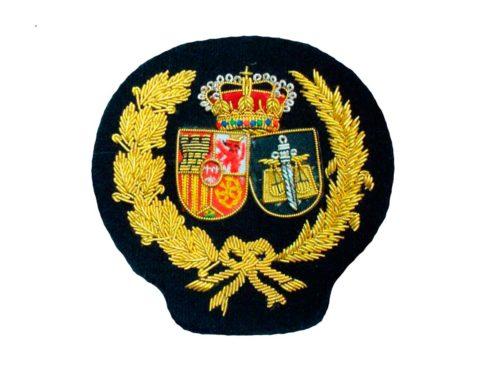 Escudo para toga procuradores fondo blanco