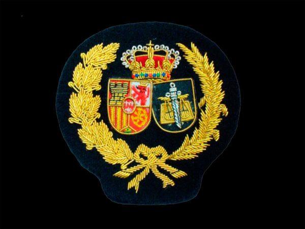 Escudo para toga procuradores fondo negro