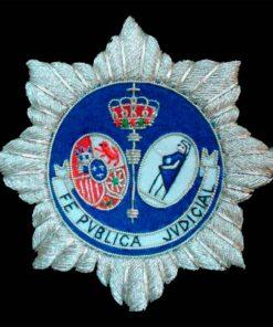 Escudo para toga Fedatario Publico Judicial
