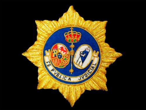 Escudo para secretario judicial