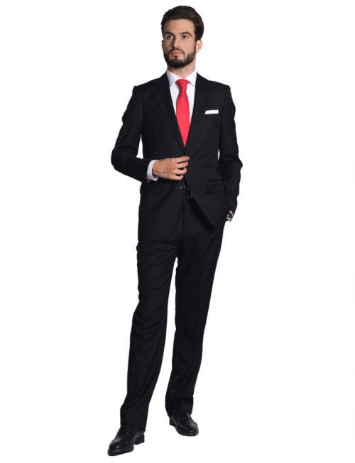 Traje negro o gris para abogados