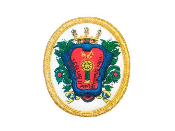 Escudo para toga abogados del colegio de Malaga