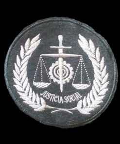 Escudo bordado a mano para Togas, Escudos colegio de Abogados.