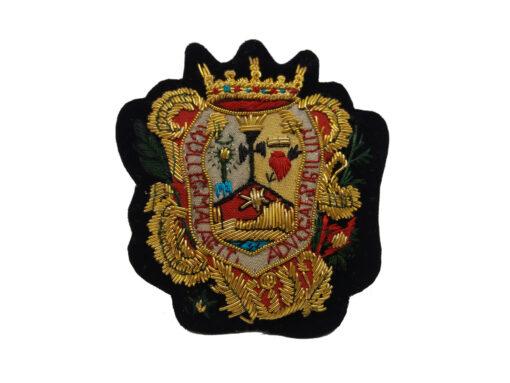 Escudo para Toga bordado a mano Colegio de Abogados de Malaga