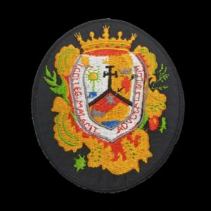 Escudo Colegio Abogados de Malaga en color fondo negro