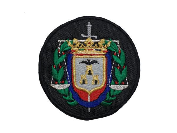 Escudo para poner en Togas de Abogados de Albacete