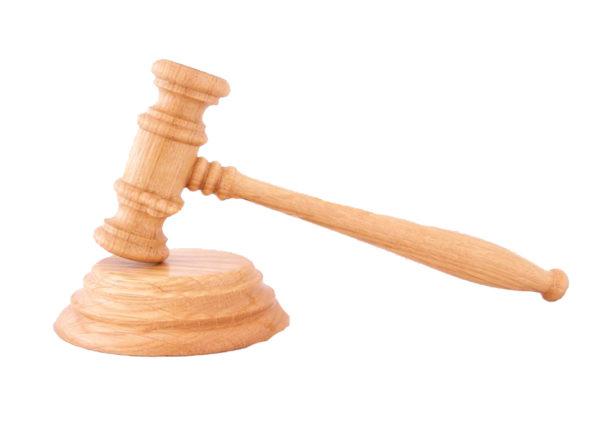 Mazo Juez de madera de Roble Tienda de Togas