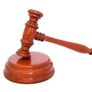 Mazo Juez Madera de Iroko Tienda de Togas