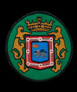 Escudo Colegio Abogados de Pamplona negro
