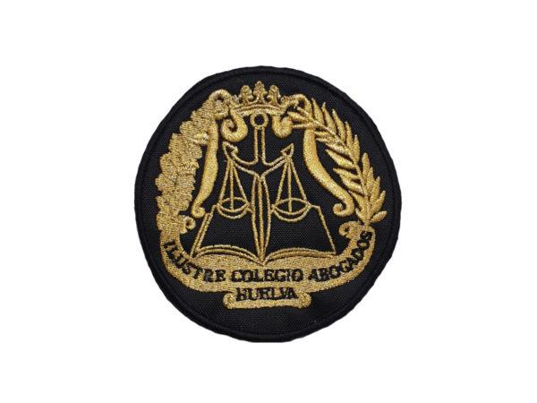 Escudo para Togas de Abogados de Huelva