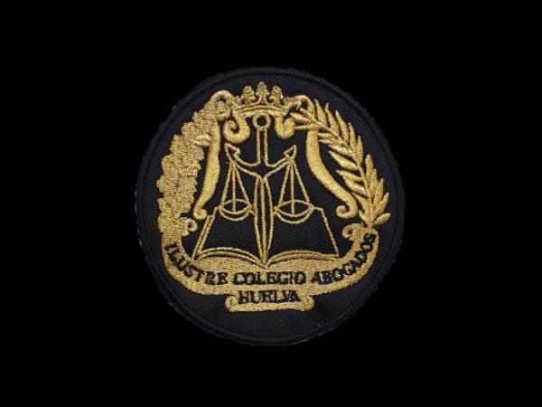 Escudo para poner en Togas de Abogados de Huelva