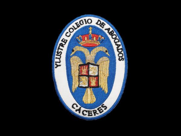 Escudo Colegio Abogados de Caceres para Togas