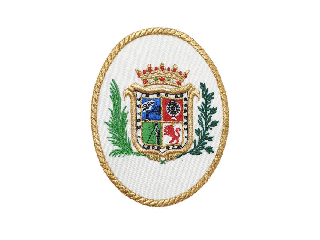 Escudo para Togas Abogados de Cordoba con filo Oro