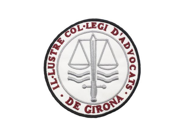 Escudo para Togas del Colegio de Abogados de Gerona