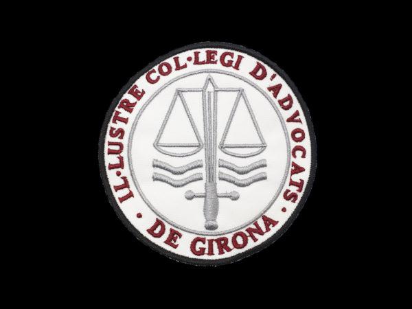 Escudo Colegio de Abogados de Gerona para por en la Toga