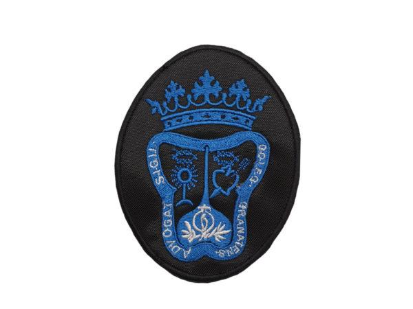 Escudo para bordado para togas de abogados de granada