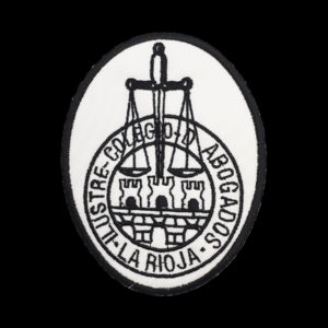 Escudo para Togas de Abogados de La Rioja