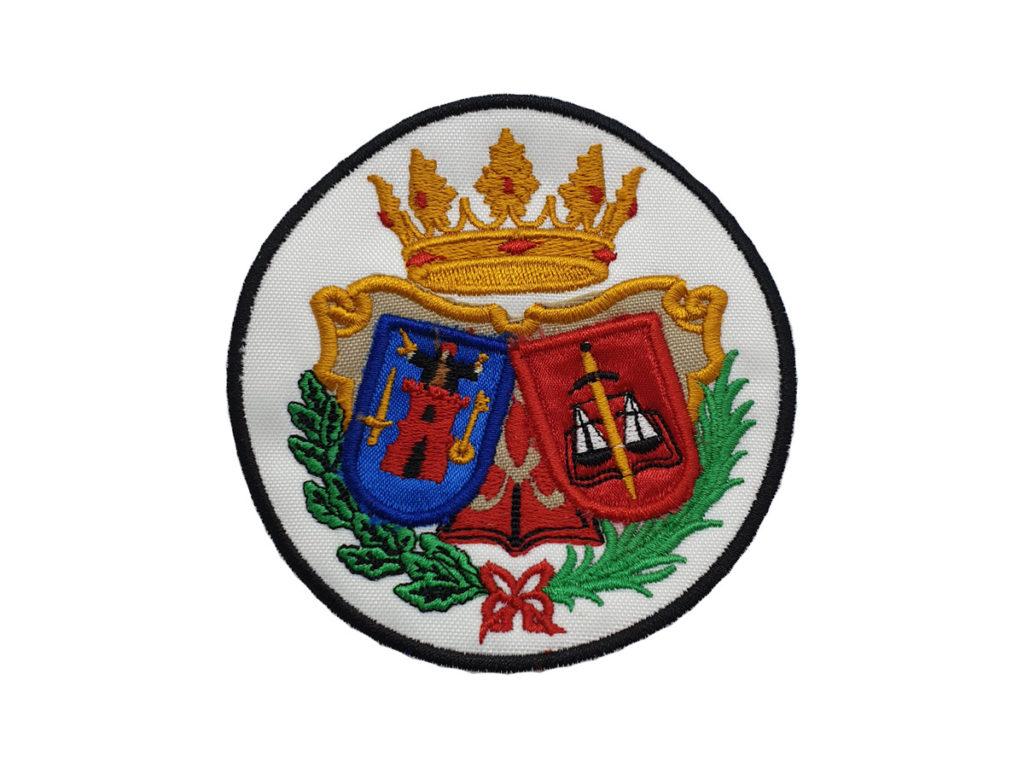 Escudo Colegio Abogados de Lorca para Togas fondo blanco