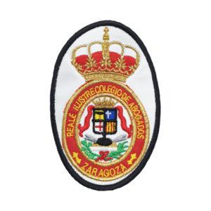 Escudo del Colegio de Abogados de Zaragoza para poner en las Togas
