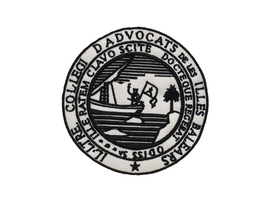 Escudo para poner en la Toga del Colegio de Abogado de Islas Baleares
