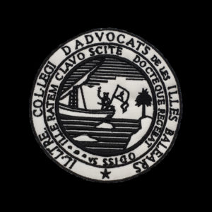 Escudo para Toga del Colegio de Abogado de Islas Baleares