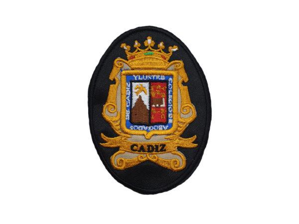 Escudo para Togas de Abogados de Cadiz