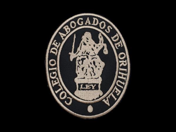 Escudo para Togas Abogados de Orihuela