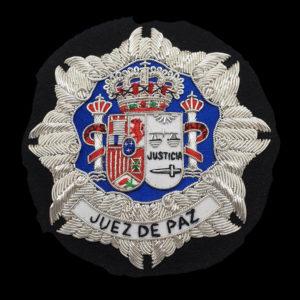 Escudo para Togas de Juez de Paz b