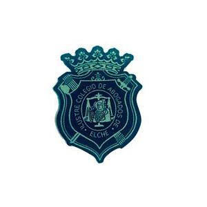 Escudo para Togas del Colegio de Abogados de Elche