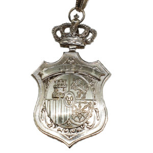 Medalla Juridica para Juez A