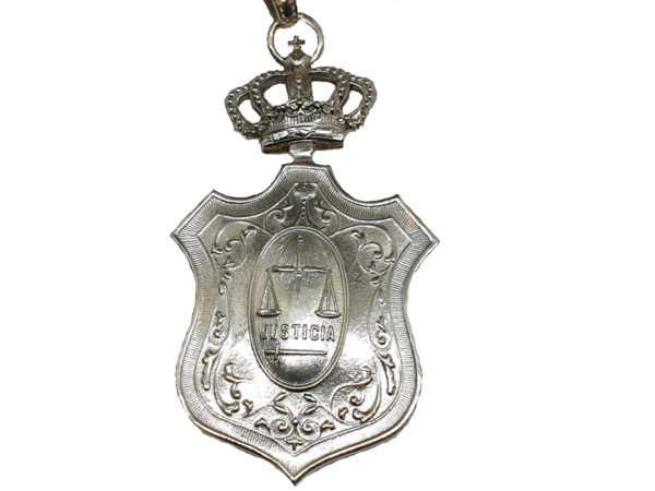 Medalla Juridica para Jueces cB