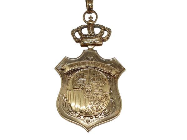 Medalla para Magistrado Cara A