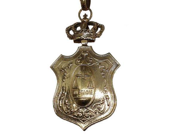 Medalla para Magistrados Cara B
